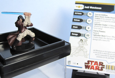Star Wars Dark Times: A Star Wars Miniatures Booster Expansion - Jedi Watchman - Kai Justiss