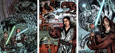 Power of the Jedi Sourcebook: Kai Justiss encounters exotic creatures on far-flung worlds